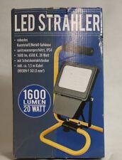 LED Fluter auf Ständer 20W 1600Lumen außen Strahler Scheinwerfer