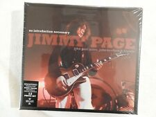"""JIMMY PAGE """"No Introduction Necessary"""" BRAND NEW BOX! STILL SEALED!"""