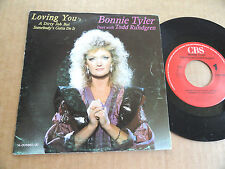"DISQUE 45T DE BONNIE TYLER  "" LOVING YOU'S A DIRTY JOB BUT SOMEBODY'S..... """