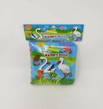 Barron's Mommy and Me On The Water's Edge Soft Book With Rattle - New