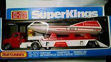 Matchbox Super King 27,Miss Embassy Power Boat