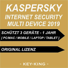 Kaspersky Internet Security Multi Device 2019 3 PC / 1 YEAR KEY DOWNLOAD [EU]