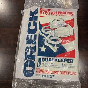 Oreck PKBB12DW Vaccum Cleaner Bag - Pack of 11 (open Package)