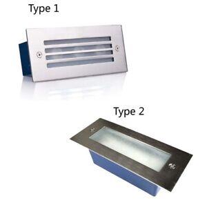 3W Outdoor Indoor LED Stair Step Lights Deck Lighting DC12V Recessed Spot Light
