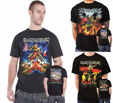 Iron Maiden T Shirt Book of Souls Tour Download Spain Nordic 2016 Official Mens