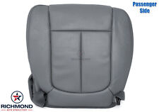 2014 Ford F-150 Lariat -Passenger Side Bottom PERFORATED Leather Seat Cover Gray