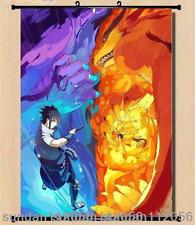 Anime Naruto Itachi Uzumaki Sasuke Home Decor Wall poster Scroll