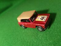 Matchbox Superfast No 18 Field Car Metallic Red 44 Label  lesney diecast
