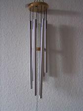 Windspiel, ca. 100 cm Gesamthöhe, 6 Klangröhren, Klangspiel