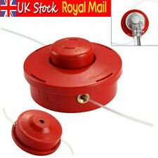 More details for universal petrol trimmer head replacement strimmer bump feed line spool cutter