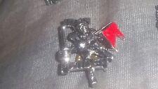 IRON MAIDEN Vintage The Trooper Metal Pin