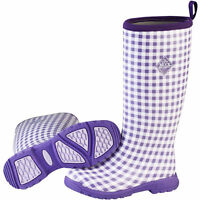 Women's Muck Boots® Breezy Tall Purple Insulated Waterproof Rain Boot $170 Size