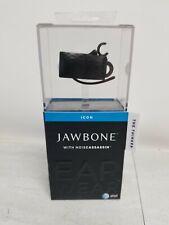 "Jawbone ICON ""The Thinker"" Black w/Noise Assassin Bluetooth Headset"
