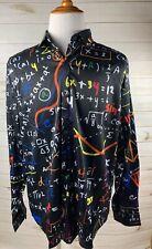 Mr. 1991INC Botones Camisa números Nerd