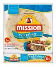 Mission Low Carb Soft Taco Flour Tortilla's 12oz./8 Ct. (Pack of 6)