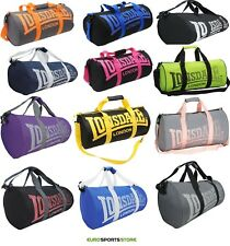 NEW Lonsdale Barrel Gym Sports Bag Mens Womens Boys Girls