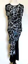 Allsaints Silk Riviera Leo Dress NWT Size 4 Retail $360 Price $105