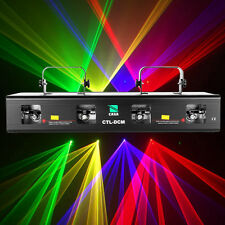 460mW RGPY LED Laser Stage Light Effetti Luci Feste Disco Show Party Club Dj