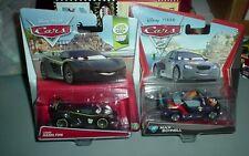 Disney Pixar Cars 2 Lot Max Schnell & Lewis Hamilton Diecast