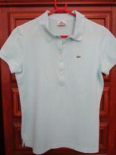a0d241e56ebb LACOSTE Damen Poloshirt Gr.44DE42,Farbe Hellturkis,94%Cotton,1Xgetragen