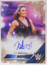 2016 Topps WWE Then Now Forever Natalya SP Autograph Insert Card # 39 / 50