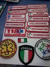 RICAMO ricami PROTEZIONE CIVILE 118 Anpas PC cri