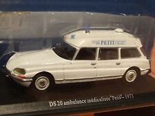 1:43 escala 1973 Citroen DS 20 francés ambulancia