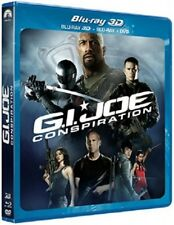 G.I. Joe : conspiration combo BLU-RAY 3D + BLU-RAY + DVD NEUF SOUS BLISTER