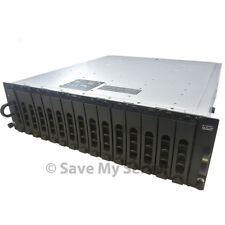 Dell PowerVault MD1000 DAS Storage Unit 15x1TB Dual SAS Controllers 2PS