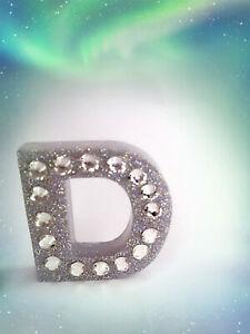 D Alphabet  Keyring  OR STANDALONE LETTER