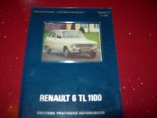"""COLLECTION """" VOTRE VOITURE """" RENAULT 6 TL 1100   1974"""