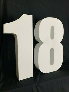 18th Birthday Freestanding letters for Decoration 60cm tall