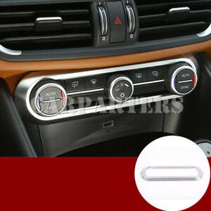 For Alfa Romeo Stelvio Inner Console Air Condition Button Frame Cover 2017-2021