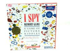 I Spy Memory Game Picture Riddles Scholastic Cards Home School Kids Memorize