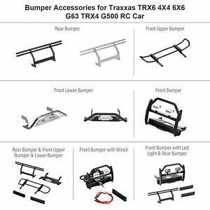 Metal  Plate Replacement For Traxxas TRX6 4X4 6X6 G63 TRX4 G500 RC C6I2