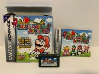 Super Mario Advance (Nintendo Game Boy Advance, 2001) Gba Complete in box Tested