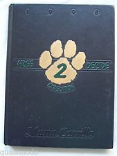1998 MARIA CARRILLO HIGH SCHOOL YEAR BOOK, SANTA ROSA, CALIFORNIA