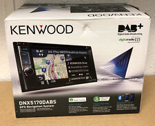 Kenwood DNX-5170DABS Double Din Car GPS Sat Nav Screen Stereo DAB CARPLAY EXDEMO