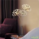 Modern Dandelion Crystal LED Table Lamp Desk light Reading lamp Bedroom Lighting