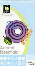 "Cricut Cartridge - ""ACCENT ESSENTIALS"" - Excellent Used Condition"