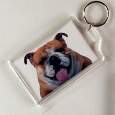 Personalised KEY RING-ANY image/text GREAT GIFT! JUMBO!