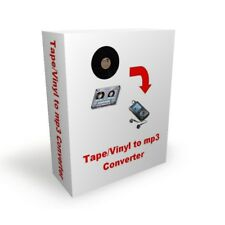 Software Convert tape / LP music to mp3 + Free P&P