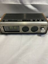 Vintage Panasonic RC-7462 FM-AM Flip Clock Radio I2