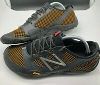 NEW BALANCE Minimus Trail Running Shoes Men's Size 10 D (MT20OB) Orange & Black