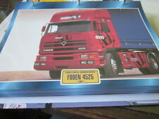Super Trucks Frontlenker England Foden 4525, 1987