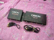 ORION 400BDG + 200CRX SET OLD SKOOL, VGC!!!