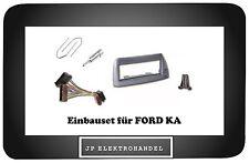 Einbauset Einbaurahmen + Adapter + Entriegelungsbügel für FORD KA Radioblende
