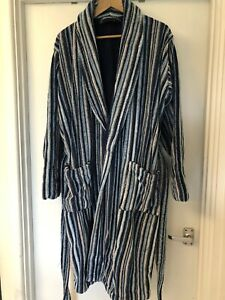 Mens Towelling Dressing Gown - M & S - Size large