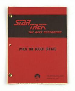 """When the Bough Breaks"" - Star Trek: The Next Generation - Original Script"