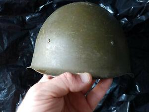 Vintage Soviet era period Russian Army military steel helmet, 1948 ( 2 ).